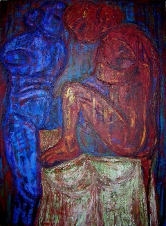 Women without arms 122 x 92