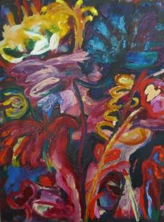 13.-Pulp-Flowers-Acrylic-on-Canvas-102-x-76